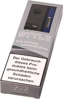AT E-Zigarette CIGGI STYLE Top-Filler Ice blue