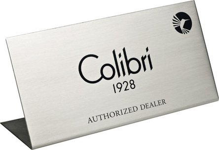 "COLIBRI Deko-Schild ""Authorized Dealer"""
