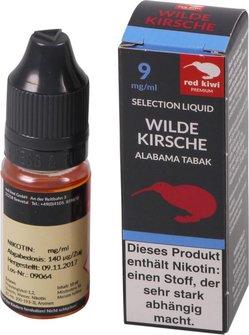 red kiwi Selection Liquid Wild Cherry Alabama Medium 10ml
