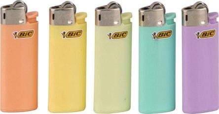 """M I N I  BIC J25 """"Pastell"""" farbig sort."""