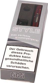 AT E-Zigarette CIGGI STYLE Top-Filler Ice red