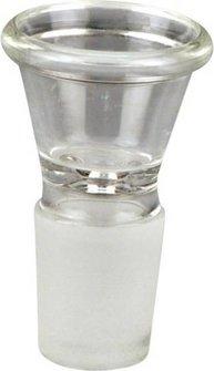 Steckerkopf für Bongs Glas 18.8mm,  Länge 49mm