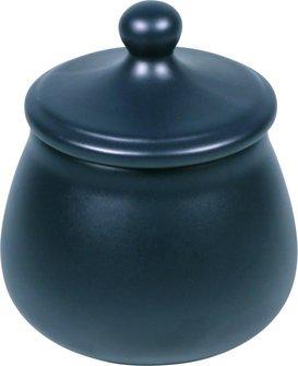 Tabaktopf Keramik nightblue, für ca. 100g Tabak