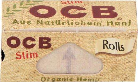 OCB Organic Hemp Rolls 4m x 4,5 cm, je 24 Rollen