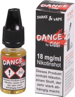 Dance Nikotinshot 18mg/ml Nikotin 10ml