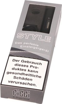 AT E-Zigarette CIGGI STYLE Top-Filler schwarz softtouch