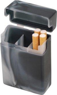 """Zigarettenbox """"mit Steg"""" bunt marm.sort.18er"""