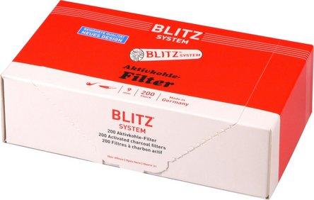 BLITZ System 9mm Aktivkohlefilter Inhalt 200 Filter