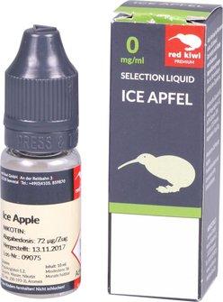 red kiwi Selection Liquid Ice Apfel None 10ml