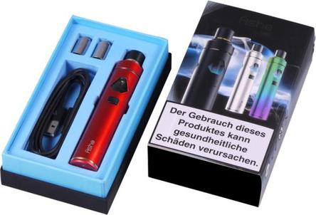 AT Elektrische Zigarette CIGGI Ashe Top-Filler rubinrot