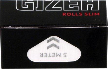 GIZEH BLACK Extra Fine Rolls Slim 5m x 4,5cm (je 20 Rollen)