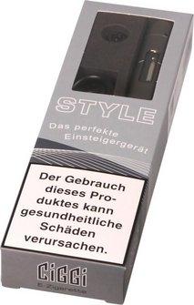 AT E-Zigarette CIGGI STYLE Top-Filler grau/gun
