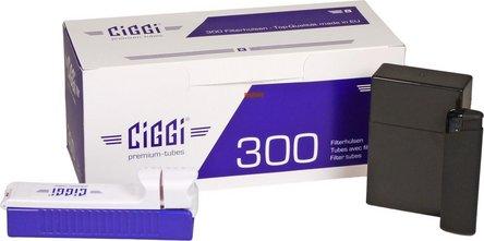 """""""Ciggi 300"""" Einsteigerset 4-tlg. Inhalt: 300er Hülse +"""