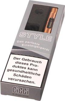 AT E-Zigarette CIGGI STYLE Top-Filler kupferfarben