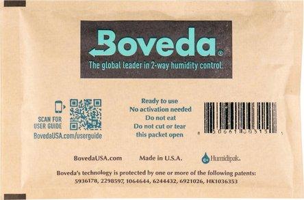 "Boveda Humidipak 2-way Humidifer groß ""72"" 13.4 x 9 cm"