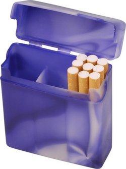 "Zigarettenbox BiG ""mit Steg"" bunt marm. sort.25er"