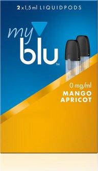 myblu Podpack 1.5ml MangoApricot 0mg/ml Nikotin DE 2er Pack