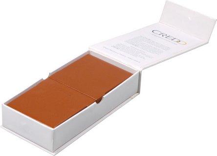 CREDO Cigarren-Etui Kalbsleder cognac 3er