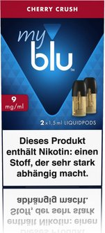 myblu Podpack 1.5ml CherryCrush 9mg/ml Nikotin DE 2er Pack