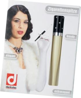 "DENICOTEA Zigarettenspitze Automatic ""Cavalier"" elfenbein L"