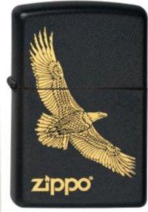 "Org.ZIPPO schw.grav.""Zippo Eagle"" 60001347"