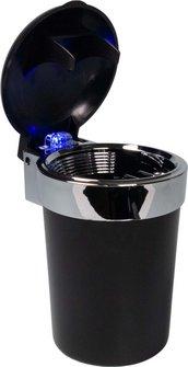 Ascher für Dosenhalter im Auto sortiert mit LED-Leuchte