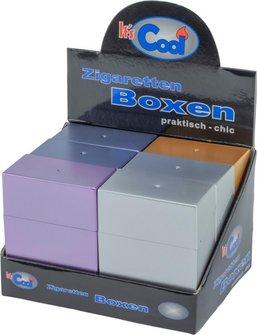 "Cool BigBox ""ohne Steg"" metallic bunt sortiert 30er"