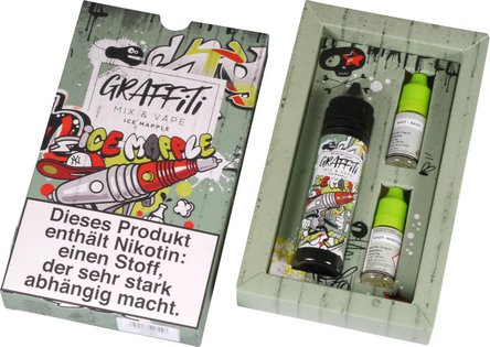 "GRAFFITI Shake & Vape ""Mapple Ice"" 3mg/ml Nikotin 60mg"