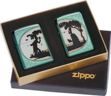 """Org.ZIPPO Set Chameleon  color """"Garden of Eden"""" 60001373"""