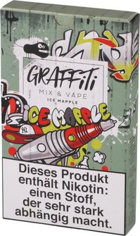 "GRAFFITI Shake & Vape ""Mapple Ice"" 6mg/ml Nikotin 60ml"