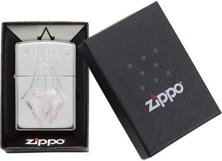 "Org.ZIPPO cr.pol.grav. ""Assassins Creed Mask"" 60004597"