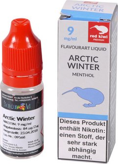 red kiwi FA Liquid Artic Winter (Menthol) Medium 10ml