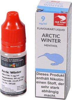 red kiwi FA Liquid Artic Winter (Menthol) Medium 10ml