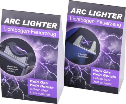 """Stellerschild """"Arc-Lighter"""" 16 x 10cm, beidseitig"""