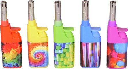 """LUX Mini-Anzünder Piezo """"Colour"""" 10,5 cm, Fix-Flame"""