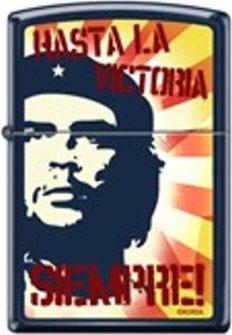 """Org.ZIPPO Navyblau color """"Che - Hasta la Victoria"""" 60000350"""