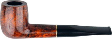 Pfeife JEAN CLAUDE gerade/Ring/orange black Acryl