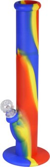 "Bong Silikon ""Multicolor"" 36cm, Durchmesser 60mm"