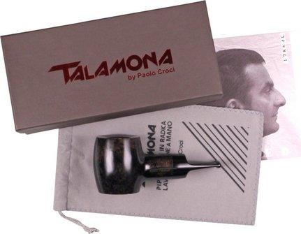 "TALAMONA Pfeife ""Reverse Calabash"" Filter grau Mod.# 1 Acryl"