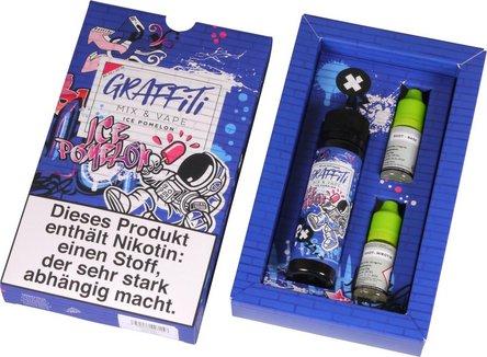 """GRAFFITI Shake & Vape """"Ice Pomelo"""" 3mg/ml Nikotin 60ml"""