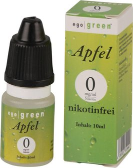 Liquid ego green Apfel None 10ml