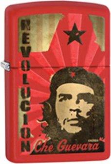 """Org.ZIPPO rot color """"Che - Revolution"""" 60000351"""