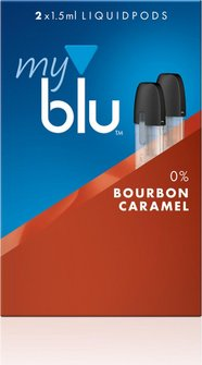myblu Podpack 1.5ml BourbonCaramel 0mg/ml Nikotin DE 2er Pac