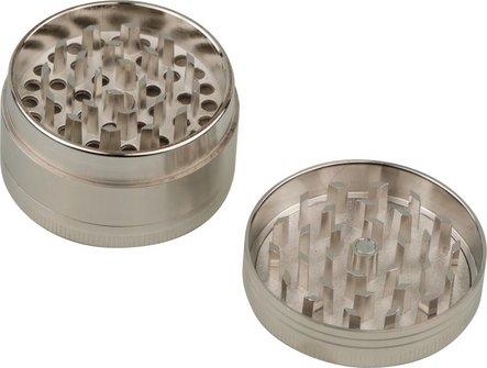 Grinder Metall 3tlg, sortiert, Durchm. 50mm, Höhe 29mm