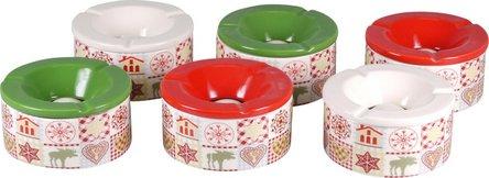 """Windascher Keramik """"Winter"""" sortiert 12cm"""