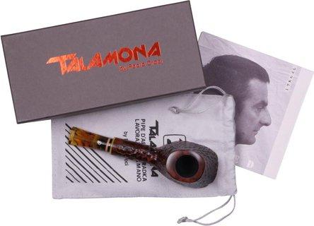 "TALAMONA Freehand Pfeife ""Magma M"" Medium mit Filter Acrylm."