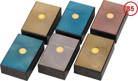 """Cool Box """"Pop up"""" Rosette metallic farbig sortiert 85mm"""