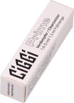 Verdampfer klar für CIGGI PRIME 1.6 Ohm, 1,3 ml Füllmenge