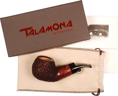 """TALAMONA Pf.""""Reverse Calabash""""Filter rustik/nat.Mod.#2 Acryl"""