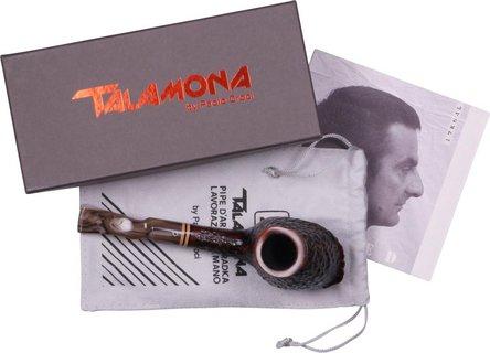 "TALAMONA Freehand Pfeife ""Magma G"" Grande mit Filter Acrylm."